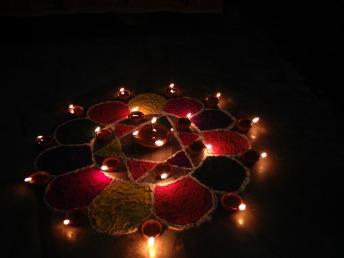 Diwali lights, Wikipedia Images