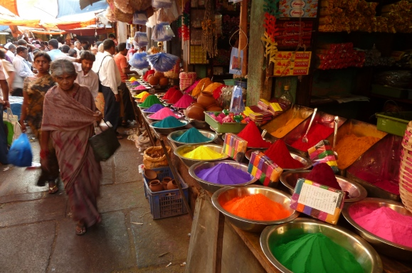 Holi colors, Wikipedia Images