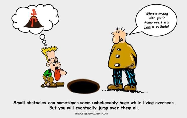 obstacles cartoon